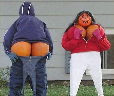 Perverted Pumpkin Carvings FTW